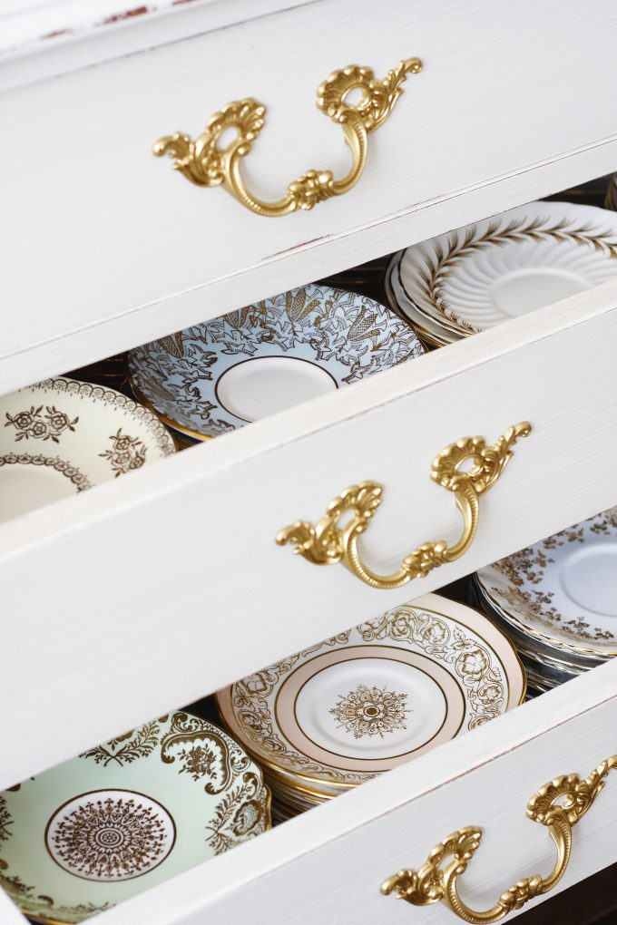 Paige Smith Vintage Life China in Drawers
